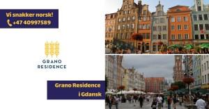 Grano Residence - luksusleiligheter i Gdańsk