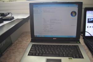 HP Compaq NX6110, Acer Aspire 3000 s