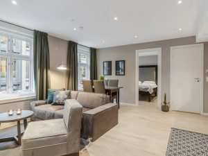 Flott og ny leilighet på 40 kvm i sentrum