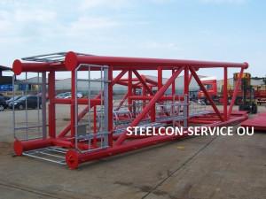 frame steel halls