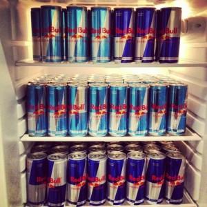 Red Bull energidrikker og Heineken øl hele salg