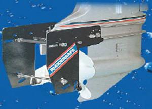 RUDDERSAFE - DOBBELT ROR for utenbordsmotorer